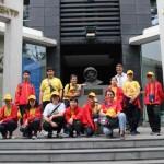 Команду участников IV Всемирных игр юных соотечественников встретили в Российском культурном центре в Пекине