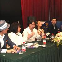中国俄罗斯电影节参展代表团 Делегация участников Фестиваля российского кино в Китае