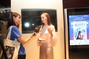 中国媒体采访 Интервью китайским СМИ