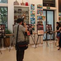 Посетители выставок в РКЦ