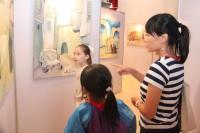 Посетители РКЦ во время выставки