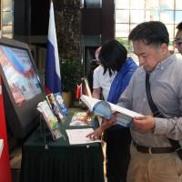 教学书籍展示  Книжная выставка учебных и методических материалов