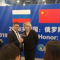 Интервью М.А.Боровской китайским СМИ
