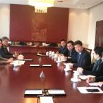 Встреча руководителя представительства Россотрудничества в Китае в Министерстве образования КНР
