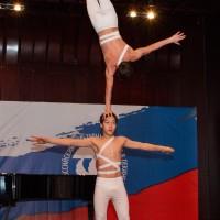 Выступление гимнастов из Республики Якутия