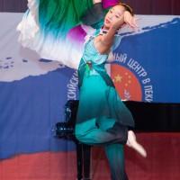 Классический китайский танец с веером