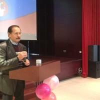 Выступает почетный гость Валерий Руденко