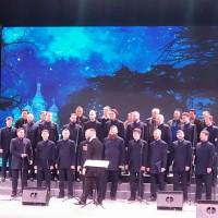 Совместное исполнение песни «Подмосковные вечера» с Хором  детей ветеранов Китая
