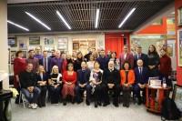 Участники встречи с Генконсулом России