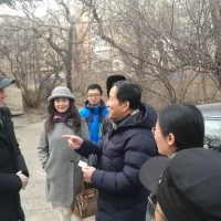 与杨宏鹏的会面`Встреча с Янгом хонгпэном Встреча с Ян Хунпэном