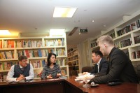 В Российском культурном центре в Пекине состоялась встреча с делегацией Московского авиационного института