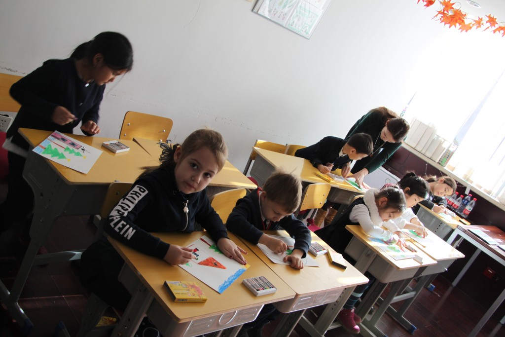 小小画家 Юные художники
