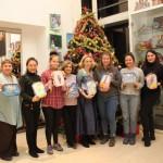 Российские новогодние традиции презентовали в РКЦ в Пекине
