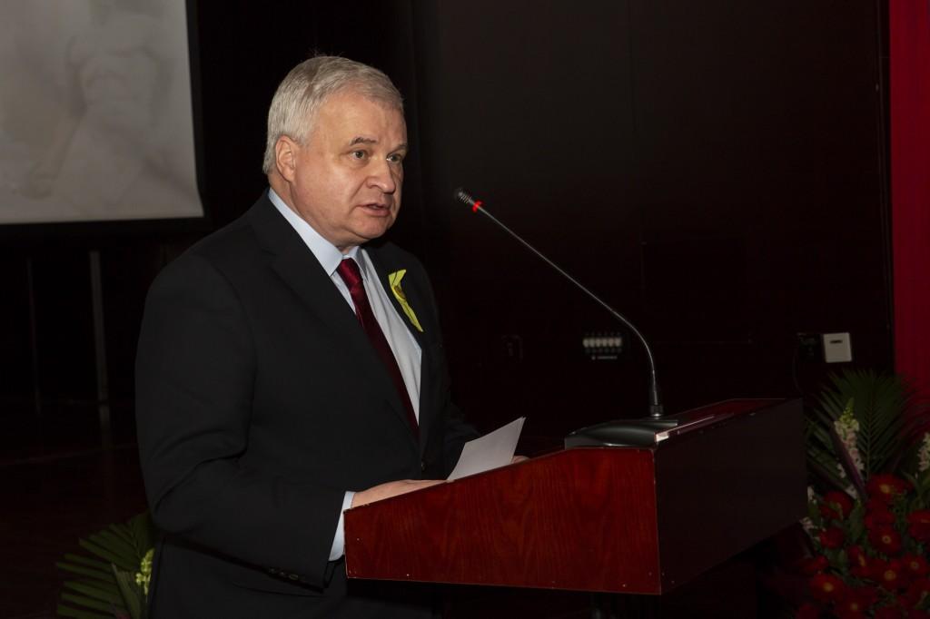 Выступление Чрезвычайного и Полномочного Посла Российской Федерации в КНР А.И.Денисова