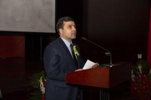 Выступление Чрезвычайного и Полномочного Посла Республики Таджикистан в КНР П.Давлатзода
