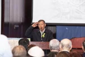 Выступление представителя организационного комитета Ассоциации китайских ветеранов профессора  Пэн Сюньхоу