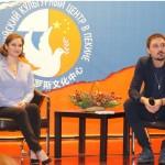 О пресс-конференции с Димой Биланом и Юлией Липницкой
