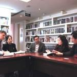 В Российском культурном центре состоялась встреча с делегацией Китайского университета океанологии