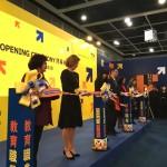 Представительство Россотрудничества в КНР приняло участие в работе международной образовательной выставки в Гонконге