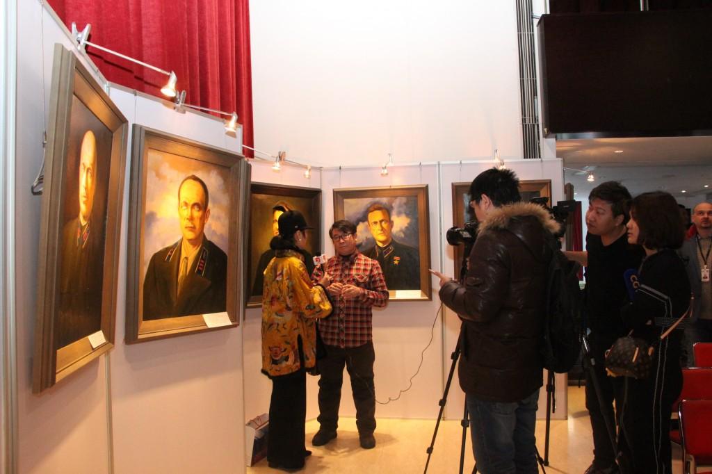 Интервью художника Гао Чанбао