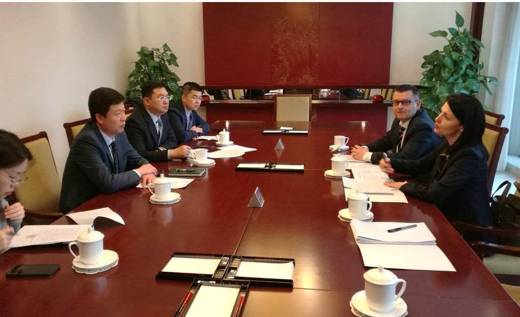 В ходе рабочей встречи в Министерстве образования КНР