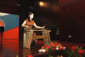 吴雪盟,中国传统乐器古琴表演 Выступление У Сюэмэн на китайском традиционном инструменте гуцинь