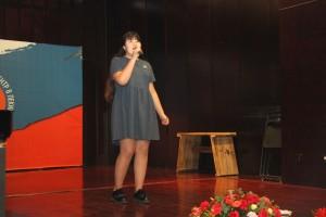 卡巴济耶娃演唱《我们周围的世界》 Кабазиева Ассем с песней «Мир вокруг нас»