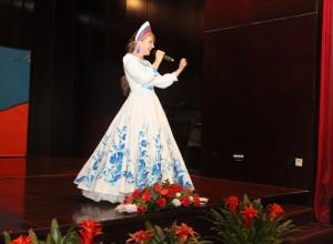 库兹米娜.尤利娅演唱《谢肉节之歌》 Кузьмина Юлия с песней «Эх, масленица»