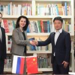 В Российском культурном центре в Пекине состоялась встреча с представителями телеканала CCTV-Кино