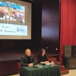 В Российском культурном центре в Пекине состоялась творческая встреча с переводчиком-синхронистом Денисом Палецким