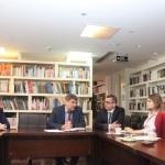В Российском культурном центре состоялась встреча с делегацией Московского авиационного института