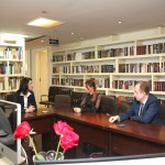 В представительстве Россотрудничества в Китае состоялась встреча с делегацией Государственного университета управления