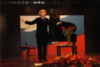 Выступление актрисы Наталии Маевой