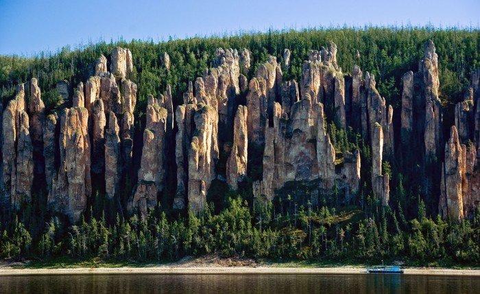 Ленские столбы 勒拿河柱状岩自然公园