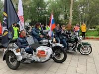 摩托车手 Участники мотопробега