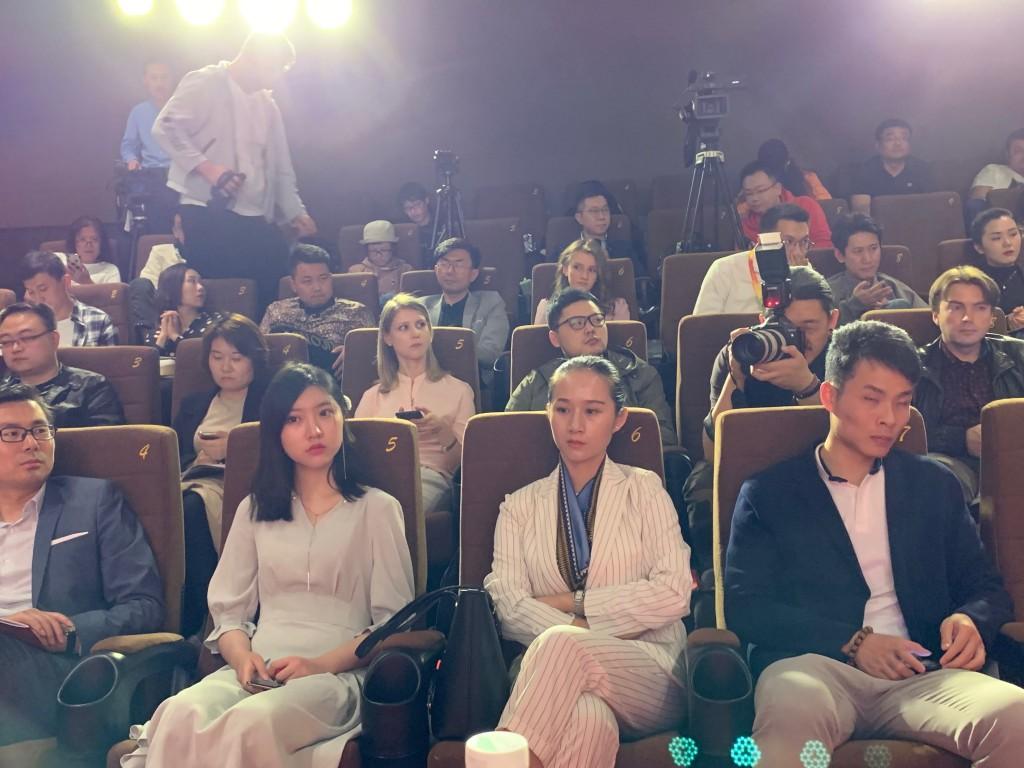 Присутствующие на пресс-конференции СМИ