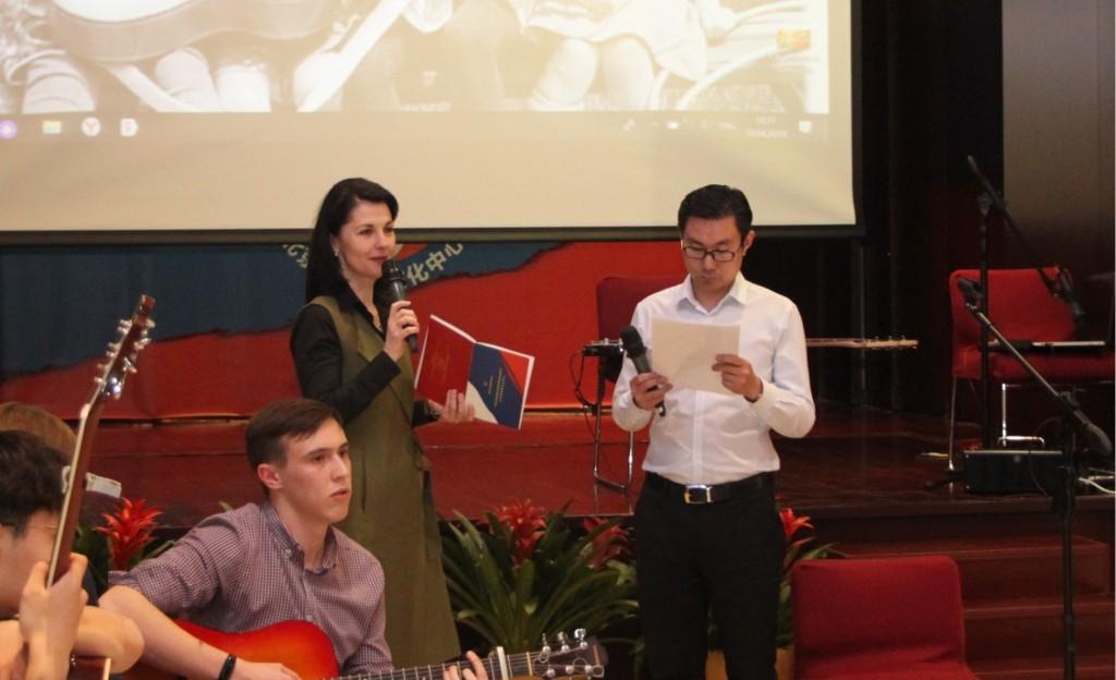 Приветственная речь руководителя Российского культурного центра в Пекине О.А.Мельниковой