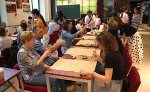 初识书法 Первые минуты знакомства с каллиграфией