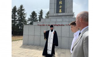 Поминовение павших военнослужащих на братской могиле