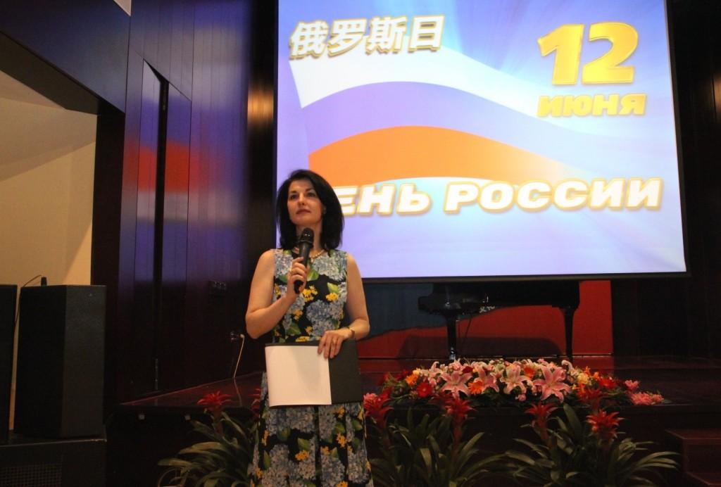 Приветственная речь руководителя представительства Россотрудничества в КНР О.А.Мельниковой