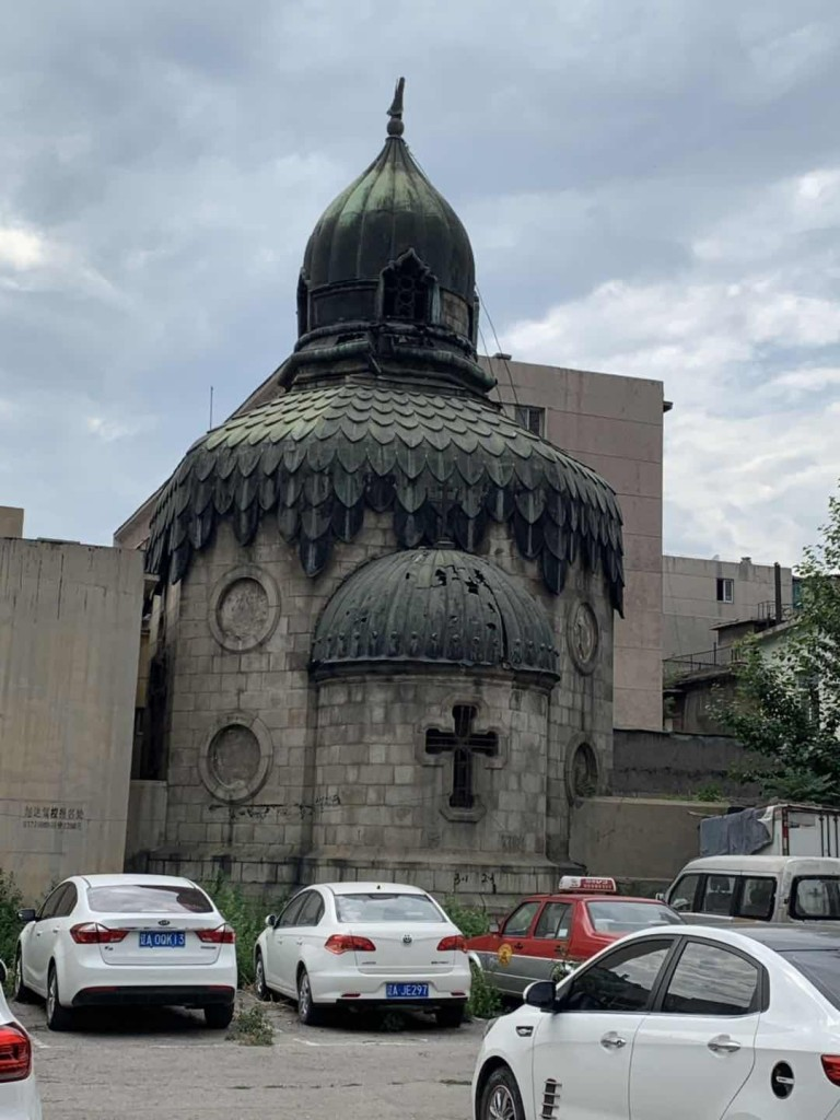 Храм Христа Спасителя в г. Шэньяне 救世主大教堂(沈阳)