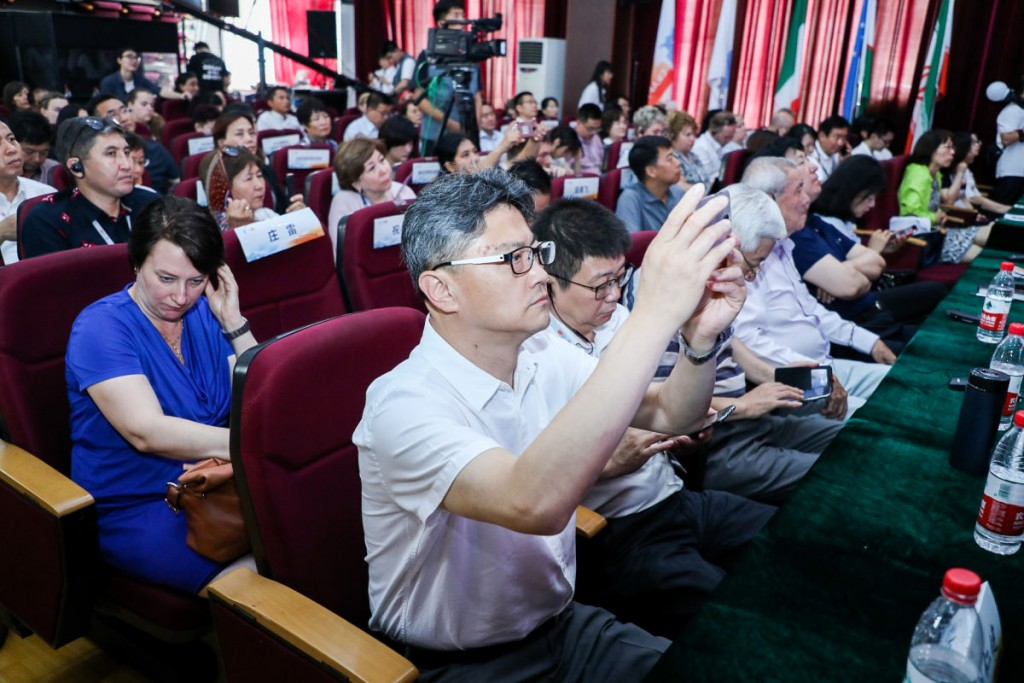 Участники конференции в зале РКЦ. 现场与会者