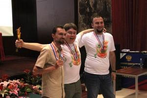 颁奖仪式 Церемония награждения победителей