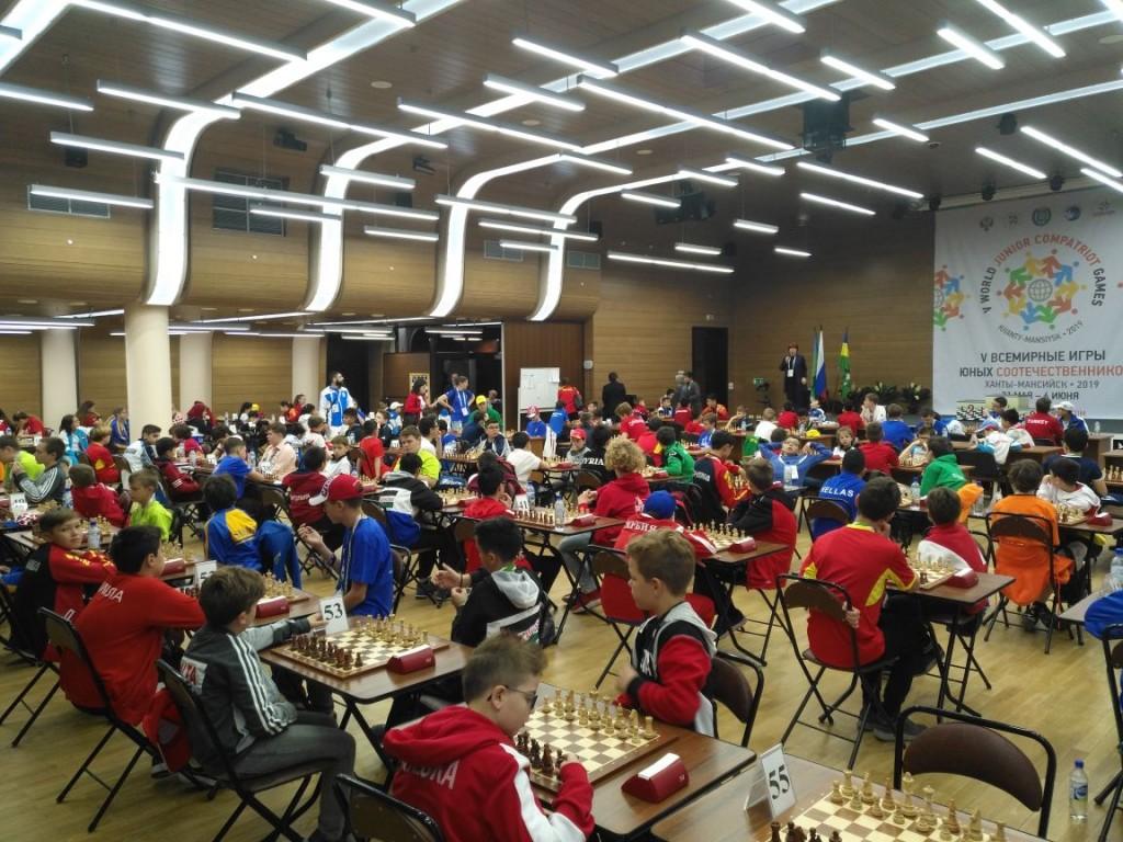 国际象棋比赛 Соревнования по шахматам