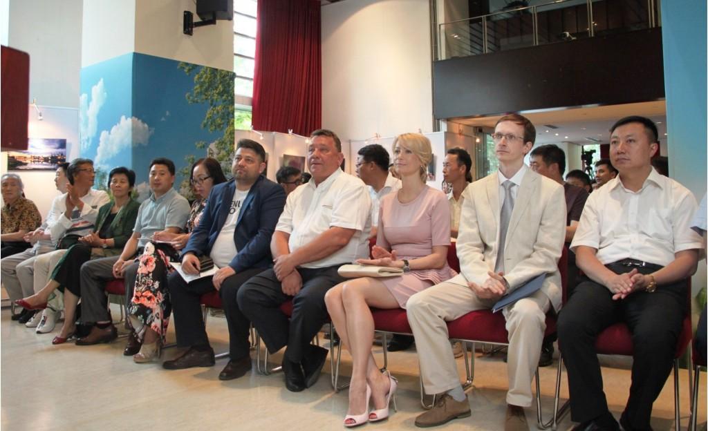 Участники мероприятия. 活动参与者