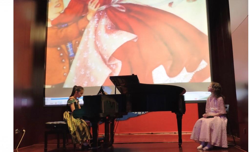 Liu Xiwen演奏《波尔卡》 «Полька» в исполнении Лю Сивэнь