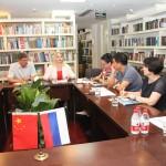 В Российском культурном центре состоялась встреча с делегацией Сибирского государственного университета