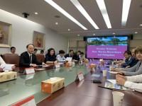 В ходе рабочей встречи в Шэньчжэньском университете