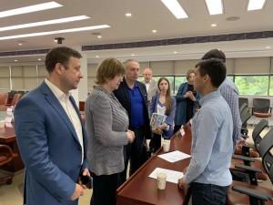 Диалог замминистра образования М.А.Боровской со студентами Казанского университета