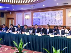 Участники с китайской стороны